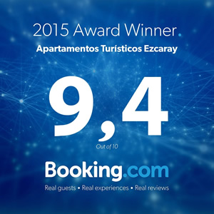 Apartamentos Ezcaray - 2015 Award winner - Booking.com
